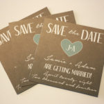 Simple Magnet Save the Date