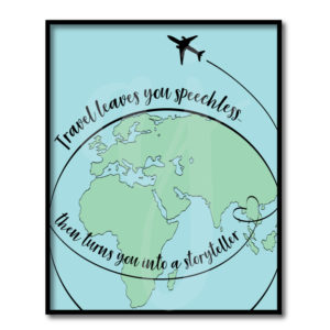 Travel Makes You Speechless Quote