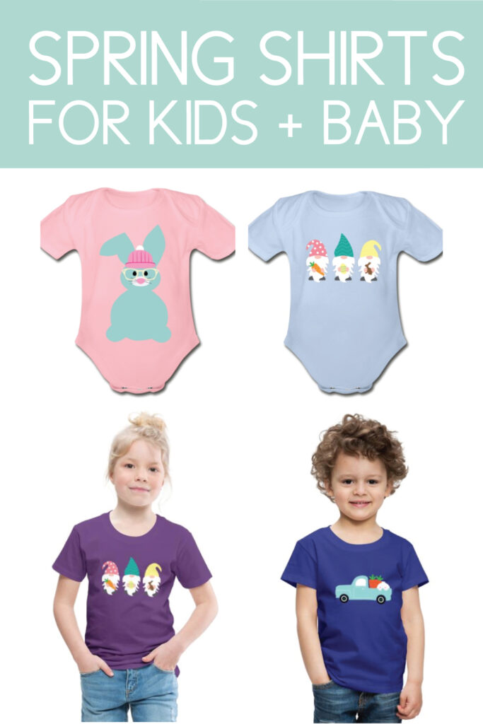 spring shirts for kids and baby