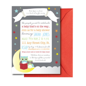 Storybook Baby Shower Invitation