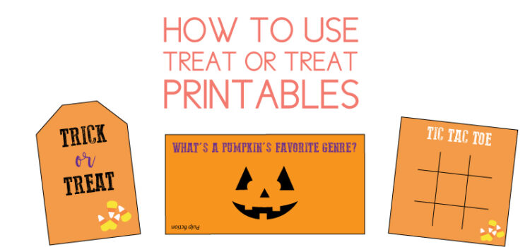 halloween printables for trick or treat bags