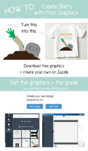 Use free graphics to make fun shirts!