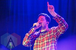 Aesop Rock of The Uncluded. (Photo: Lauren Garbutt/Aesthetic Magazine Toronto)