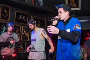 Dead Trash Mob Records Crew. (Photo: Lauren Garbutt/Aesthetic Magazine Toronto)