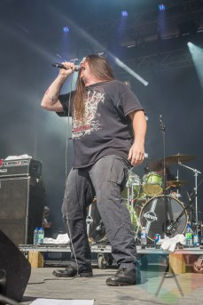 Cannibal Corpse. (Photo: Scott Penner/Aesthetic Magazine Toronto)