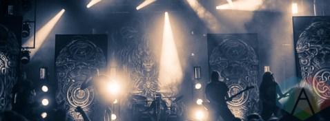 Meshuggah. (Photo: Scott Penner/Aesthetic Magazine Toronto)