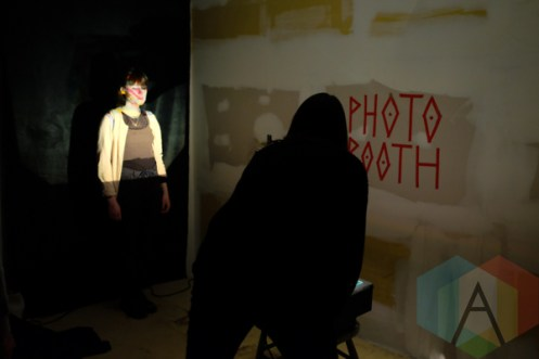 fullstridefathomed.com photobooth at Long Winter. (Photo: Kevin Leung/Aesthetic Magazine Toronto)