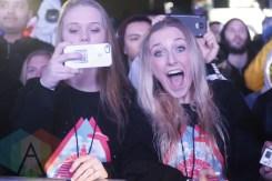 Fans in the crowd during Steve Aoki. (Photo: Krystyn Bristol/Aesthetic Magazine Toronto)