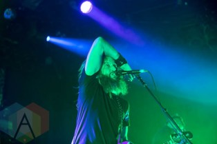 Mastodon performing at the Commodore Ballroom in Vancouver, B.C. on April 23rd, 2015. (Photo: Amy Ray/Aesthetic Magazine Toronto)