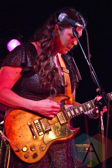 Terra Lightfoot performing at The Horseshoe Tavern in Toronto, ON on May 1, 2015 during CMW 2015. (Photo: Philip C. Perron/Aesthetic Magazine Toronto)