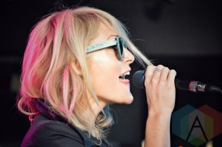 Metric performing at 102.1 The Edge in Toronto, ON on May 12, 2015. (Photo: Justin Roth/Aesthetic Magazine Toronto)