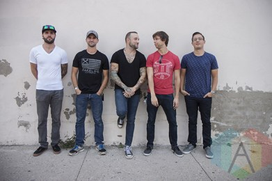August Burns Red at the 2015 KOI Music Festival in Kitchener, ON. (Photo: Sabrina Direnzo/Aesthetic Magazine)