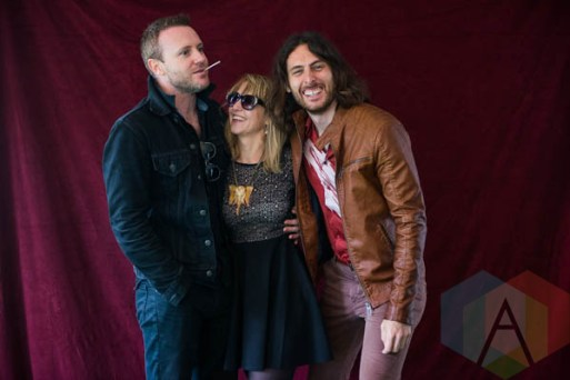 The Joy Formidable at Riot Fest Chicago 2015 in Chicago, IL. (Photo: Katie Kuropas/Aesthetic Magazine)