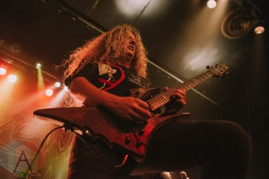 Voivod performing at the Rickshaw Theatre in Vancouver on June 13, 2016. (Photo: Timothy Nguyen/Aesthetic Magazine)