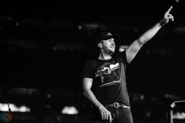 Luke Bryant performs at NRG Park in Houston on March 16, 2017 during the Houston Rodeo. (Photo: Joey Diaz/Aesthetic Magazine)