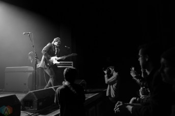 The Sonics perform at the Danforth Music Hall in Toronto on March 25, 2017. (Photo: Steve Danyleyko/Aesthetic Magazine)