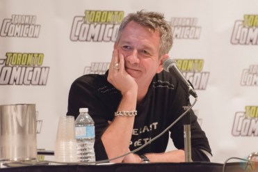 Sean Pertwee (Gotham) appears at Toronto ComiCon 2017 at the Metro Toronto Convention Centre in Toronto. (Photo: Angelo Marchini/Aesthetic Magazine)