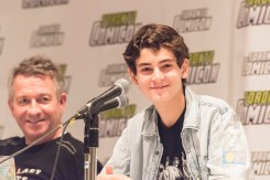 David Mazouz (Gotham) appears at Toronto ComiCon 2017 at the Metro Toronto Convention Centre in Toronto. (Photo: Angelo Marchini/Aesthetic Magazine)