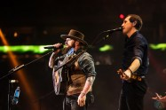 Zac Brown Band performs at NRG Park in Houston on March 26, 2017 during the Houston Rodeo. (Photo: Joey Diaz/Aesthetic Magazine)
