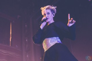 Betty Who performs at Webster Hall in New York City on April 14, 2017. (Photo: Saidy Lopez/Aesthetic Magazine)