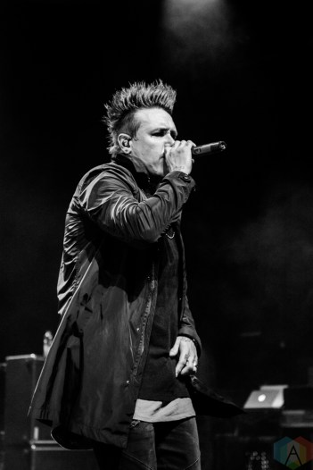 Papa Roach performs at the Danforth Music Hall in Toronto on April 18, 2017. (Photo: Tyler Roberts/Aesthetic Magazine)
