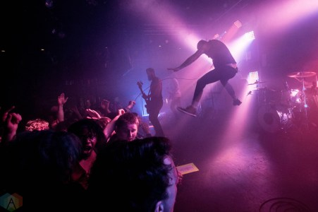 Senses Fail performs at Neumos in Seattle on April 3, 2017. (Photo: Daniel Hager/Aesthetic Magazine)