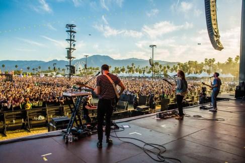 Two Door Cinema Club performs at the Coachella Music Festival in Indio, California on April 15, 2017. (Photo: Erik Voake)