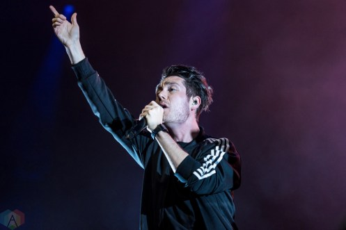 Bastille performs at the Radio 104.5 10th Birthday Show at BB&T Pavilion in Camden, New Jersey on May 13, 2017. (Photo: Saidy Lopez/Aesthetic Magazine)