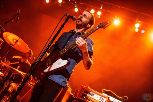 The Sword performs at Lupo's Heartbreak Hotel in Providence, RI on May 16, 2017. (Photo: Timothy Boyer/Aesthetic Magazine)