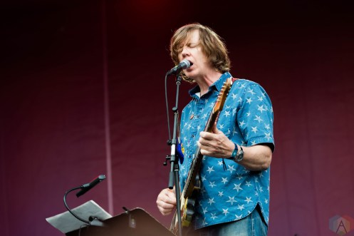 Thurston Moore performs at Pitchfork Festival in Chicago on July 14, 2017. (Photo: Katie Kuropas/Aesthetic Magazine)