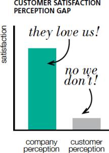 Customer Satisfaction Perception Gap