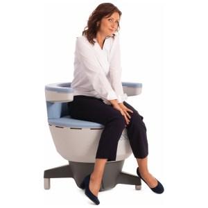 BTL Emsella Chair in use