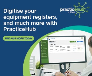 Digitise your equipment registers and much more with PracticeHub