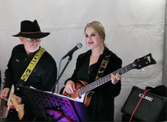 Michael and Jemma performing