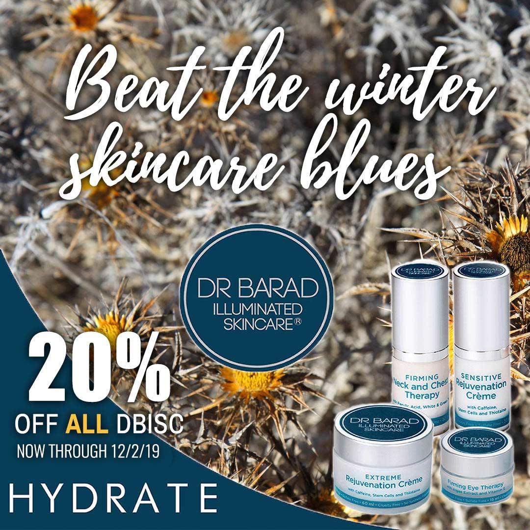 20% off all Dr Barad Illuminated Skincare Cyber Sale 2019