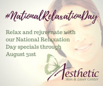 National Relaxation Day 2018