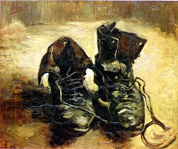Van Gogh, Pair of Shoes, 1886
