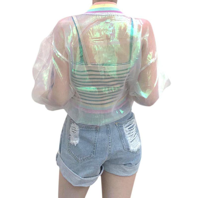 Summer Jacket Sunscreen Laser