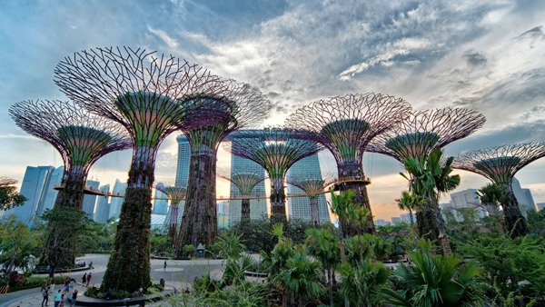 Fine Garden By The Bay Buka Jam Beberapa E On Design Ideas