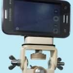 Adaptador para celular em tripé