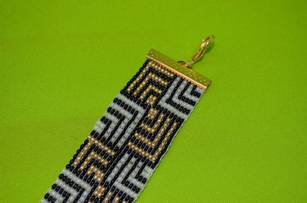 kit para fazer pulseira de miçanga no tear 028