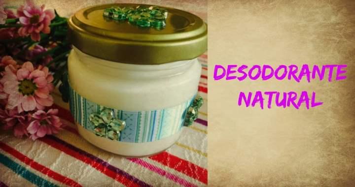 Desodorante natural caseiro
