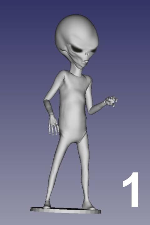 ET Grey Zorak Pose 1