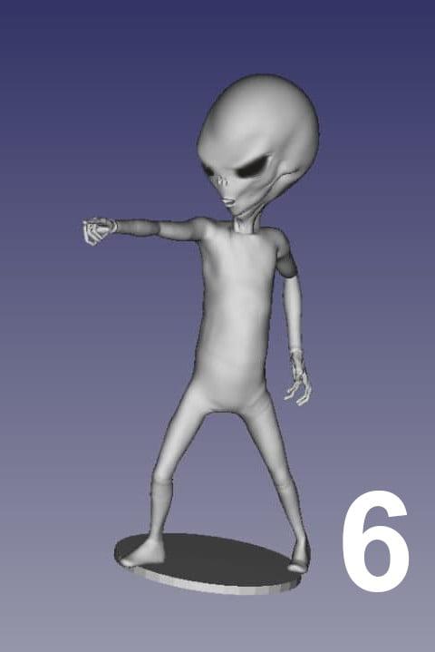 ET Grey Zorak Pose 6