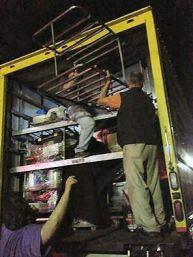 Truck packing - Elaine