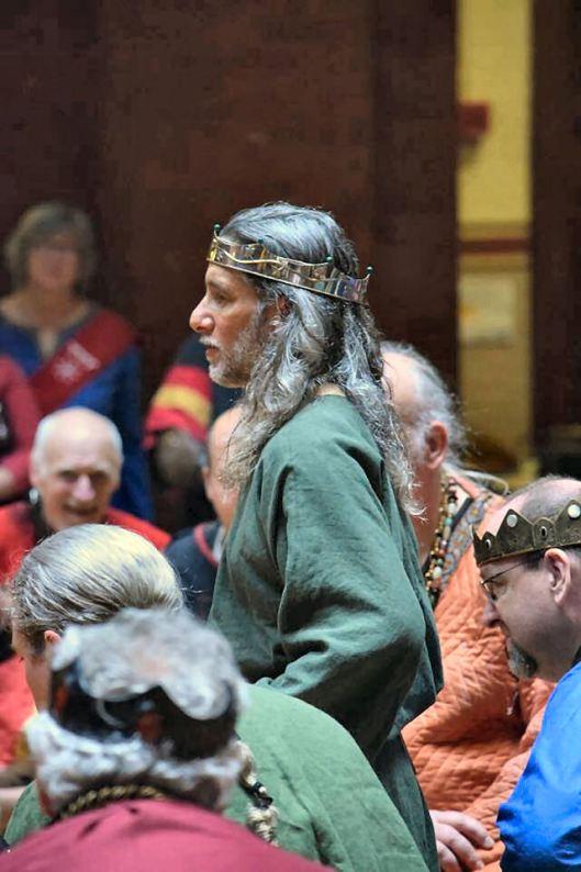 Athos morning court