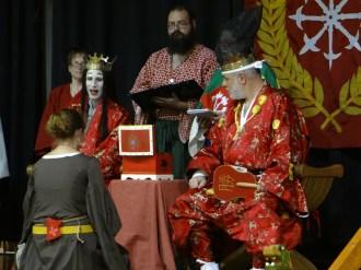 Lady Jarngerd receives a Keystone