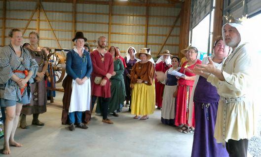 Byron addresses artisans