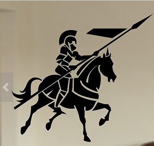 knight-wall-art