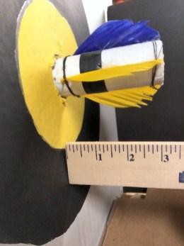 Measuring arrow